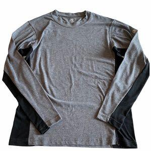 Mountain Hardwear Gray Long Sleeve Shirt Medium